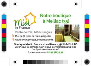 Miel In France Carte De Visite